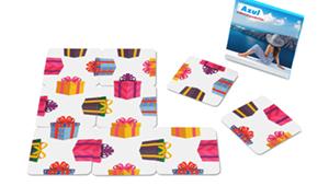 9 Cards square puzzle