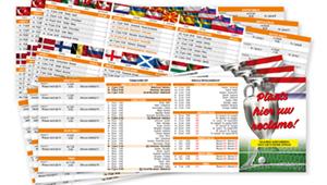 EK 2020 Wedstrijdschema